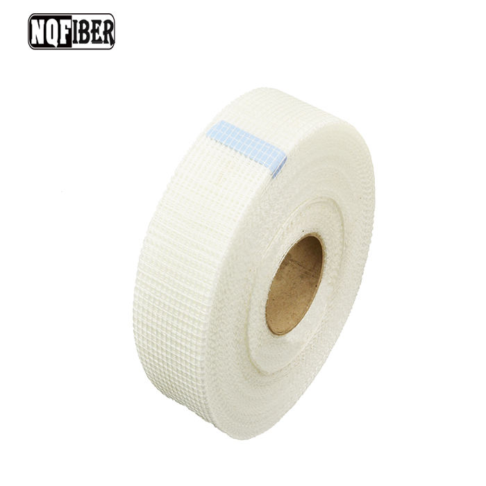 NQ FIBER price of glass fibre drywall self adhesive fiberglass mesh tape for acrylic mesh