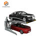 Two Post Tilting Mechanical Hydraulic Car Home Garage 2 Levels Parking Lift