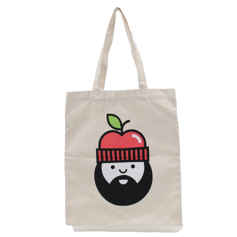 Wholesale Nature Color Cotton Canvas Tote Bags