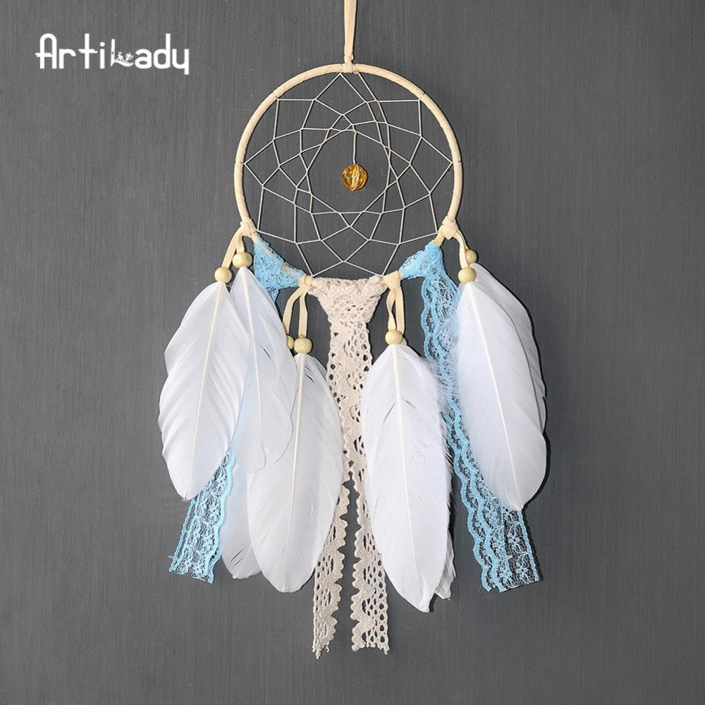 Artilady Factory directly sell small kids chinese dream catcher for baby room decorations