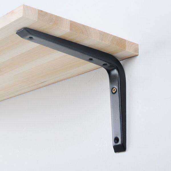 Europen-Style Iron triangle bracket wall right angle bracket
