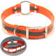 Eco-friendly Waterproof Wholesale Reflective TPU Greyhound Hunting Dog Collar,Fluorescent Dog Collar For Training Dogs