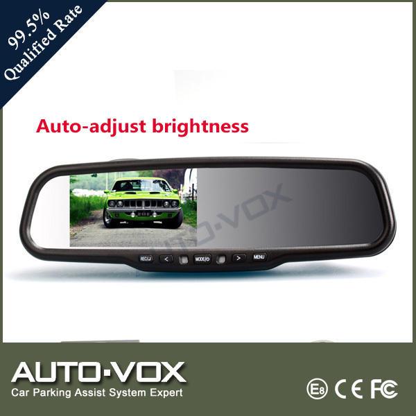 """4.3"""" 1080p hd auto specchietto retrovisore monitor con dvr, parafango specchio"""