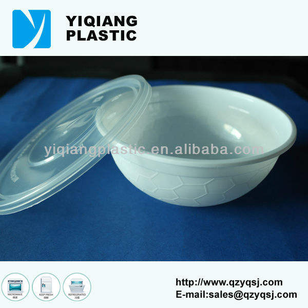 PP disposable clear plastic bowl