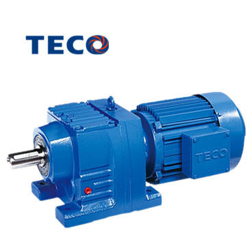 TECO BR series helical geared motor