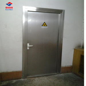 4mm 5mm X Ray Shielding Automatic Lead Lined Door