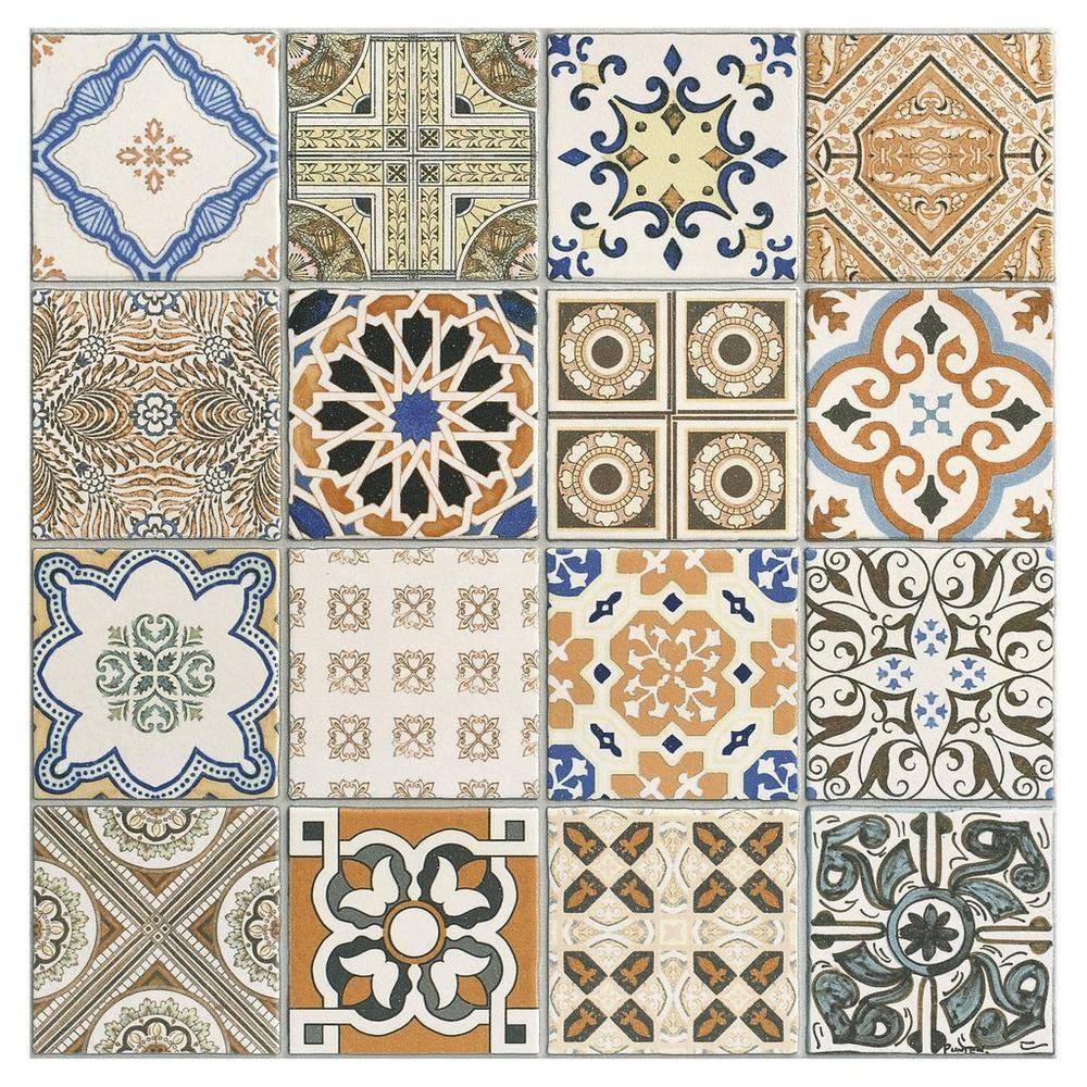 - Moroccan Tile/wall/stair Vinyl Decal/ Stickers,Kitchen & Bathroom
