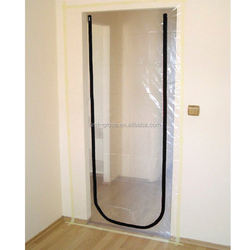 Dust barrier Door I L U type/ High Quality Zipper Door Kits Construction Door