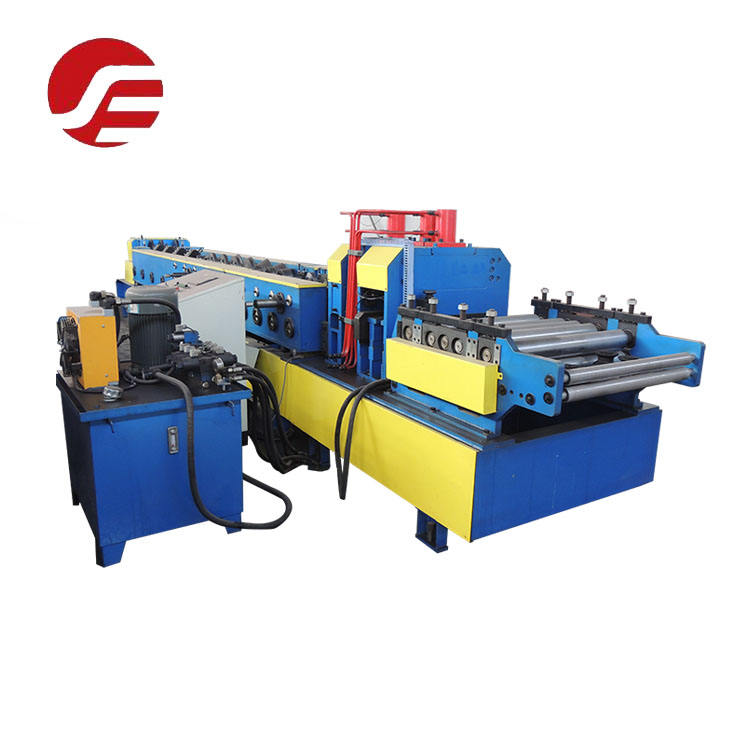 Automatically C Z Shape C Z Purlin Cold Steel Purline Rolling Forming Machine