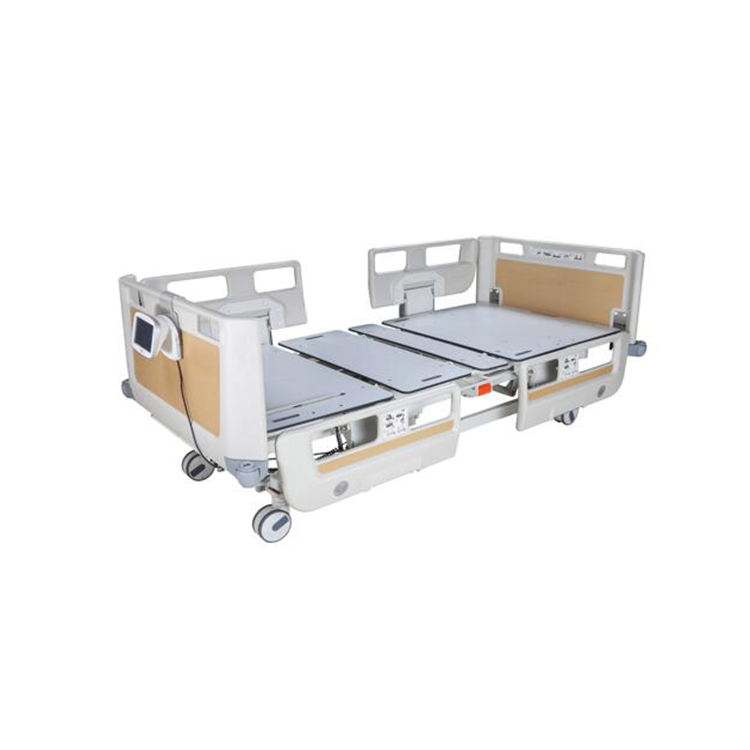 Hot sell hospital carbon fiber board film ICU bed from MT medical