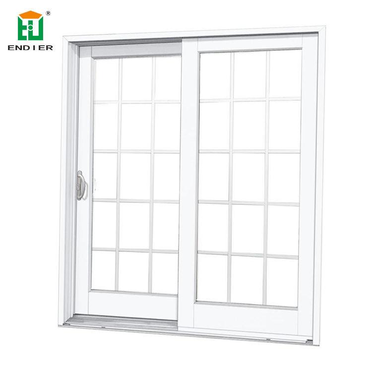 Melbourne frame da liga de alumínio janelas de correr e portas paralelas francês design da grade da janela de alumínio de correr