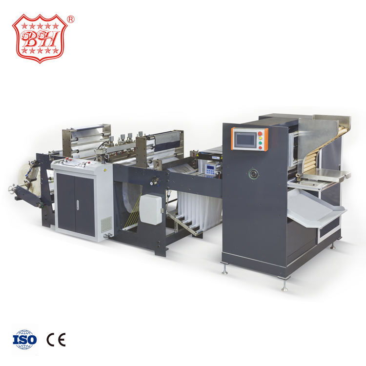 Baihao High Performance 100m/min Automatic Core Plastic Rubbish Bags Machine