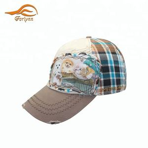 unisex pattern custom sport kids caps sun visor cap hat for kids
