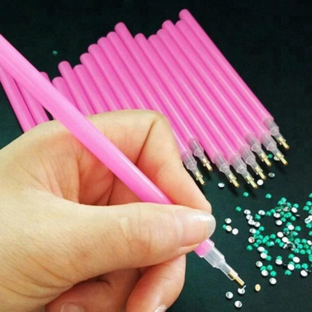 Wholesale Acrylic Rhinestone Dotting Pens Tools Nail Art Painting Tool