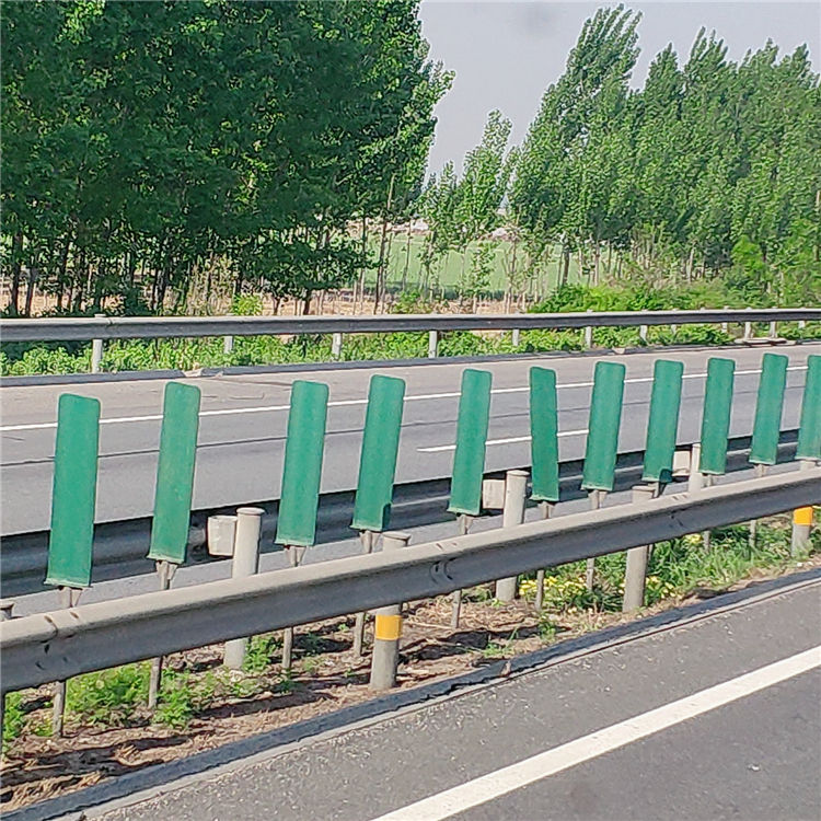 Popular road safety barrier high quality galv steel highway posts galvanized guardrail systems