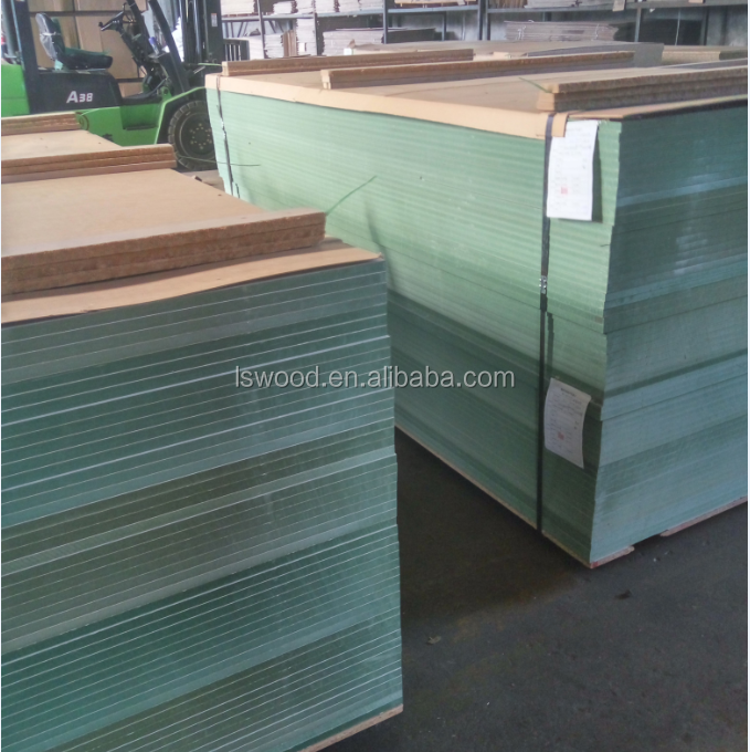 Melamined Plywood Board Wood Fiber Material And Moisture-Proof Feature Melamine Board On Plywood/mdf