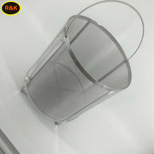 100 200 micron 20 mesh 0.15mm hole size 12 inch 304 stainless steel woven wire mesh strainer beer basket bazooka