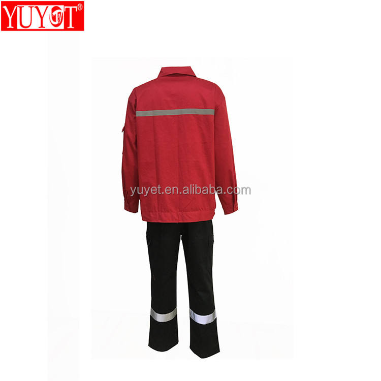 High quality Hi Vis fireproof comfortable men protective clothing