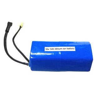 Rechargeable 18650 10S2P 36v 4ah li-ion battery pack for electric scooter