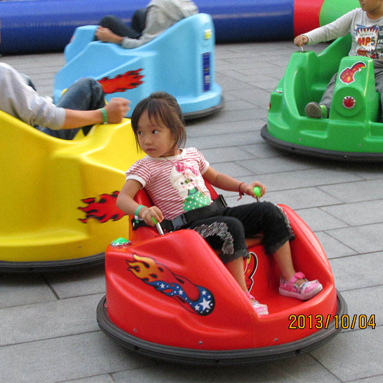 Small Round Bumper Ice Car For Theme Entertainment Park