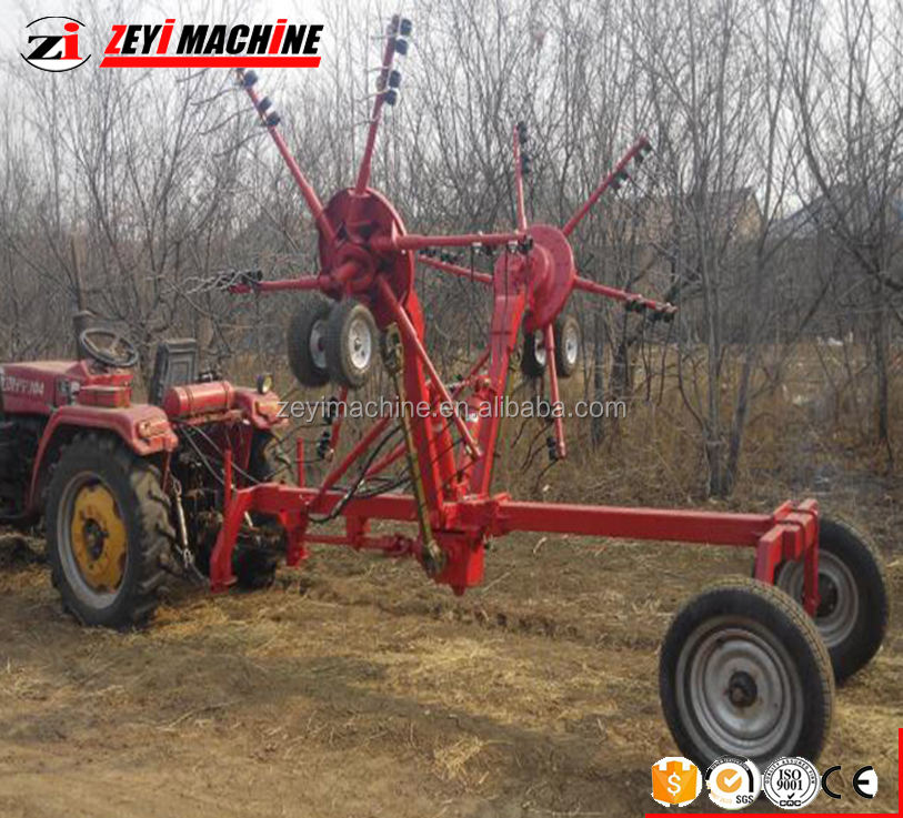 rotary Hay rake and tedder