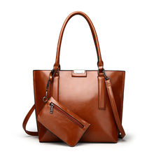 2019 China Fashion And Colorful Female PU  Hand Bags Set Luxury Womens Tote Shoulder Bag