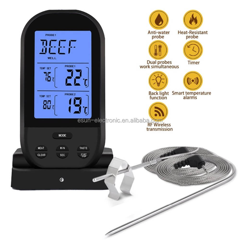 Bulk Buy From China Digital Egg Incubator Used Wireless Kitchen Food Meat Thermometer