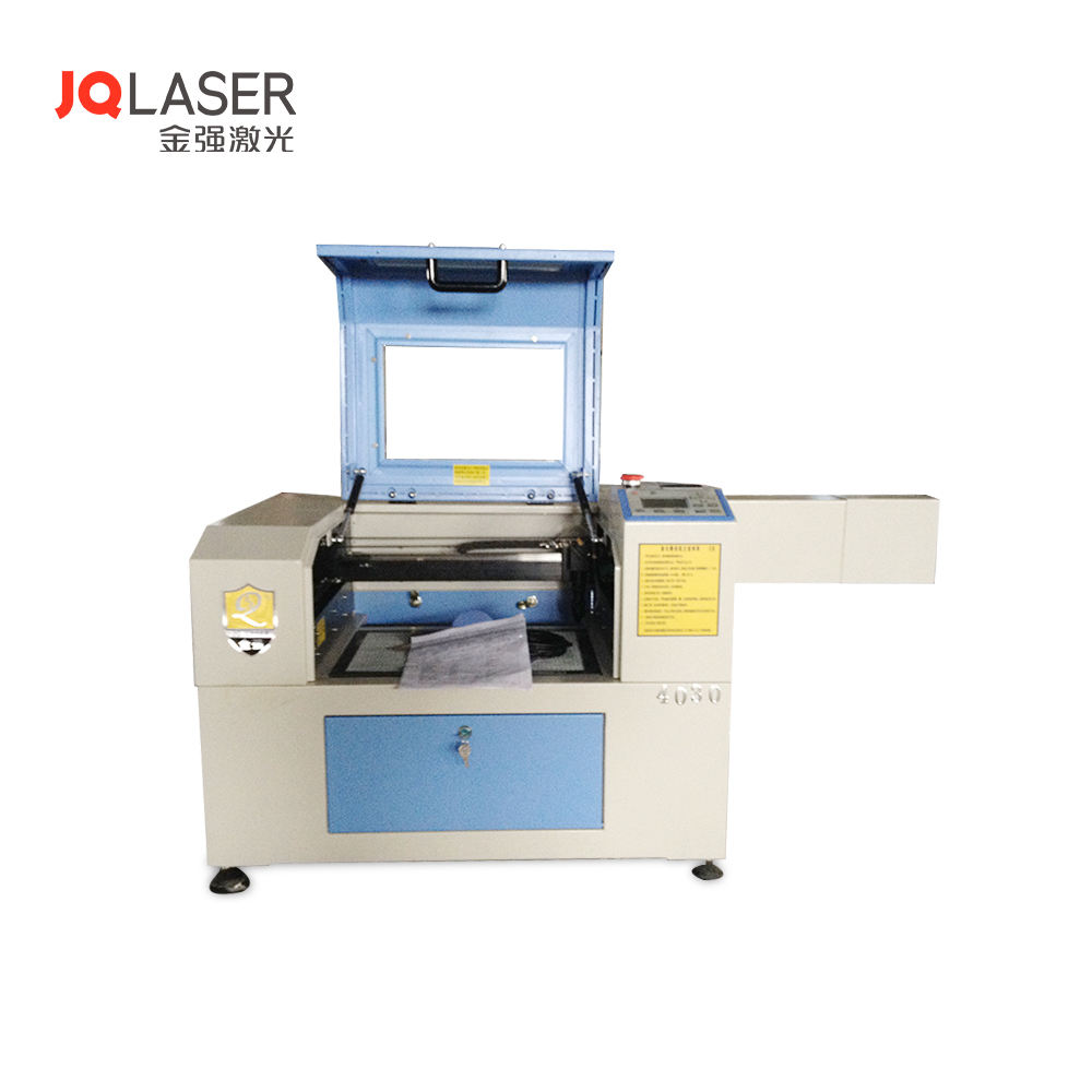 4030 Rubber Stamp Mini Used Laser Wood Engraver Machine For Sale
