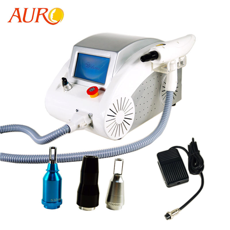Au-S525 Professional Q switch Nd Yag Laser Tattoo Removal Machine Price/ Tattoo Removal laser For Sale