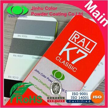 Ral 9007 & ral9006 aluminum silver powder coating 1kg