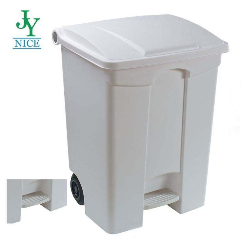 30L plastic mini OEM trash can without wheel home corridor gallery pedal garbage can with lid sanitary rubbish waste bin