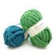 Super Soft Charmkey Chunky polyester yarn 100% Fancy Knit Chenille Yarn for Weaving