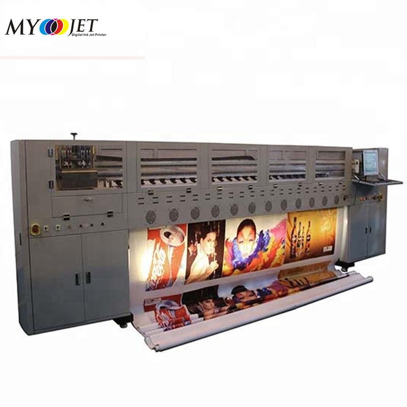 Стабильный крупнейший flex баннер prinitng машина 10ft цифровой starfire растворителя принтер