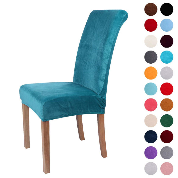 Velvet Spandex Fabric Chair Cover,High Quality Chair Cover,Lounge Chair Cover