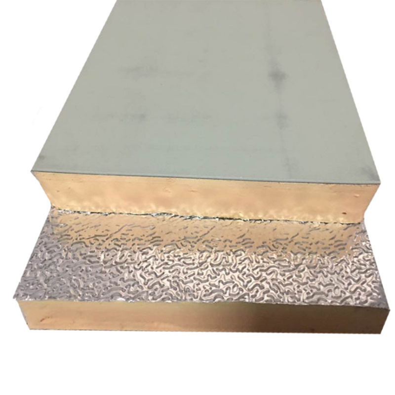 Aluminum foil phenolic foam insulation wall board