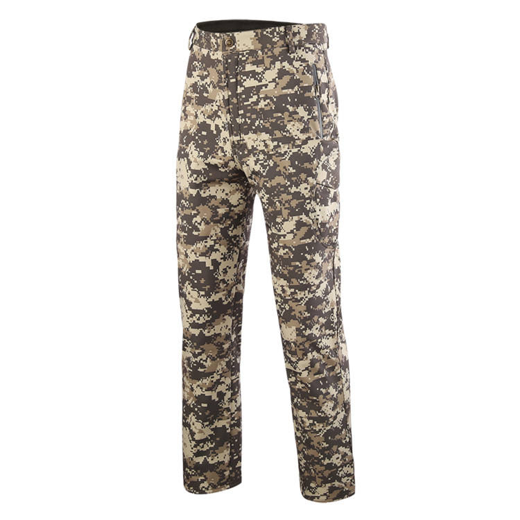 ESDY Camo Waterproof Men Outdoor Shark Skin Trousers Combat Tactical Softshell Pants