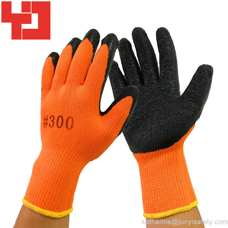 Durable latex coated working glove
