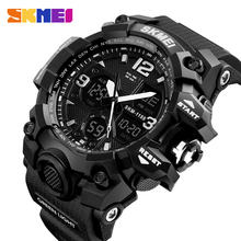 Skmei 1155B factory wholesale price chronograph LED waterproof custom brand digital watch sport wrist men watch
