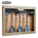 Good quality Nylon Kitchenware tools set of 7 pcs with wire handle