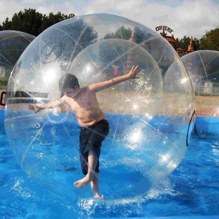 PREMIUM 2M Water Walking Roll Ball Inflatable Zorb ball Germany TIZIP Zipper