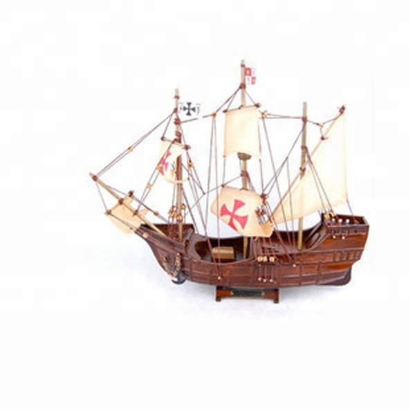 wooden toy boat model