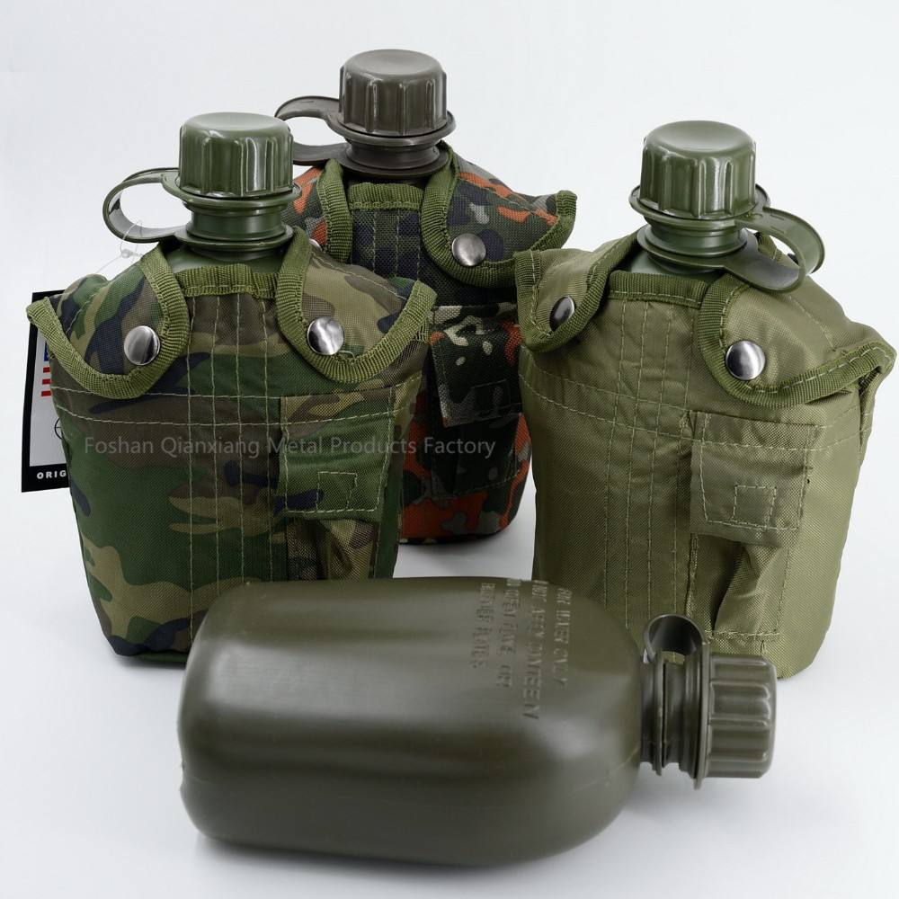 1L PE US army drink bottle Military canteen