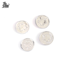 Multi using plastic game tokens silver coin