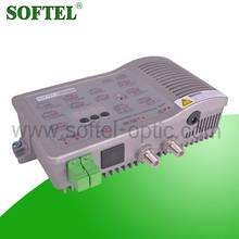 1GHz Optic node of FTTB CATV network with GfaAs chip RF amplifier, fiber optic transmitter receiver