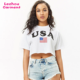 america flag t shirt custom usa flag t shirt