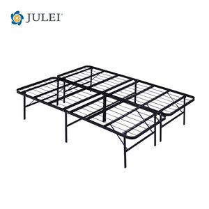 NEW Smart Base Mattress Foundation Platform Bed Metal Frame Folding ALL SIZE