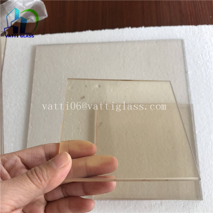 High temperature 850 degrees ceramic glass resistant Robax 4mm 5mm 6mm For infrared heater box