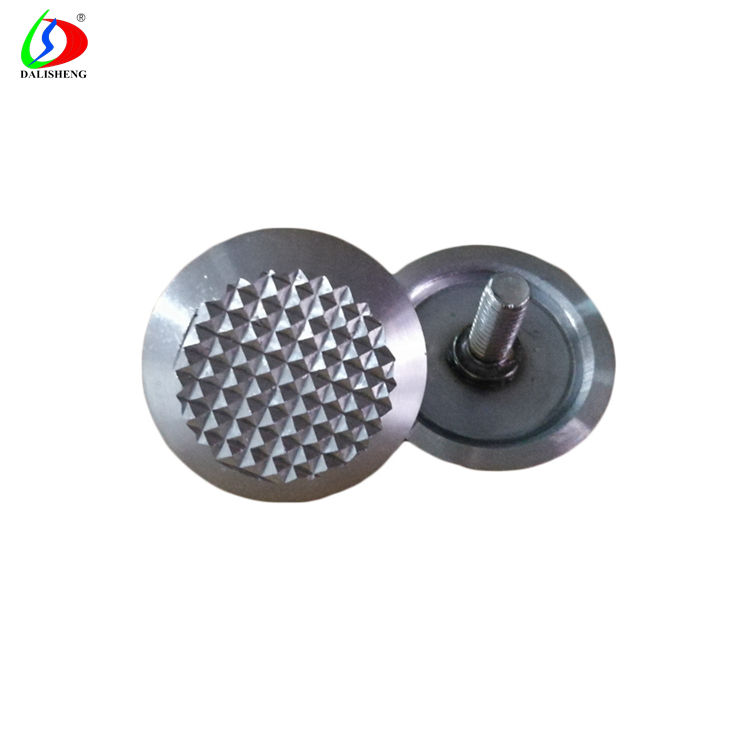 Gold Stamping Stainless Steel Tactile Pavement Warning Studs with Indicators
