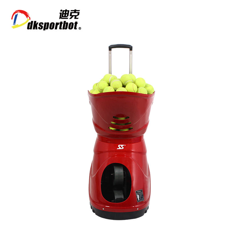 DK DT4 Portable practice wireless tennis ball machine with remote control