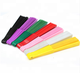 Wholesale Spanish Style Multi-color Polyester/Cotton Plastic Plain Dyed Blank Folding Hand Fan
